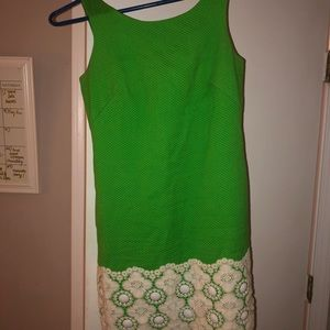 Lilly Pulitzer Julibee Fitch Green Dress